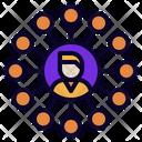 Omni Channel Marketing Icon