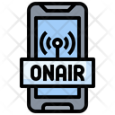 On Air Podcast Microphone Icon