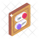 Switchboard Breaker Buttons Toggle Buttons Icon