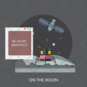 On The Moon Icon