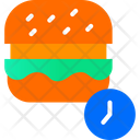 On Time Delivery Food Delivery Barger Icon