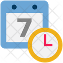 Logistics Delivery Calendar Icon