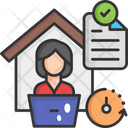 On Time Delivery Fast Delivery Delivery Services Icon