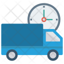 Delivery Time Clock Icon