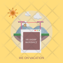 On Vacation Icon