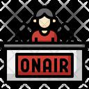 Onair Microphone Live Icon