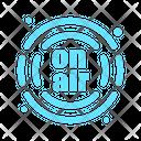 Onair Podcast Radio Icon