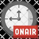 Onair Time Time Onair Icon
