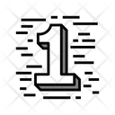 One First Number Icon