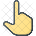 One Finger Point Icon