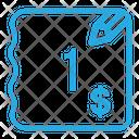 One Dollar Bill Icon