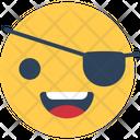 One Eye Smiley Smiley Smiley Face Icon