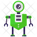 One Eyed Robot Monitoring Robot Mechanical Robot Icon