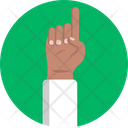 Ramadan One Finger Finger Icon