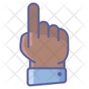 One Finger Hand Icon