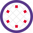 One Hour Clock Time Icon