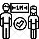 Distance Outbreak Virus Icon