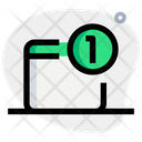 One Notification Icon