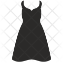 Lady Summer Dress Icon
