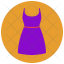 Pear Dress One Icon