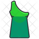 One shoulder top Icon