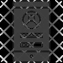 Technology Authentication Key Icon