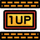 One Up Life Game Icon