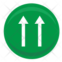 One Way Motion Icon