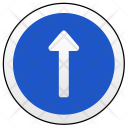 One Way Sign Icon