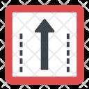 One-way Traffic Icon