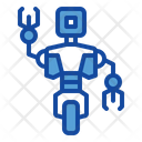One Wheel Robot Icon