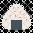 Onigiri Rice Seaweed Icon