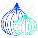Onion Herbal Spices Icon