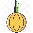 Onion Vegetable Cooking Icon