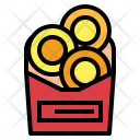 Onionrings Food Snack Icon