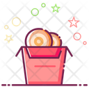 Onion Rings Twist Ring Frites Icon