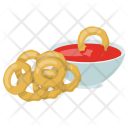Onion Rings Dipping Icon