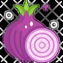 Onions Vegetable Vegetarian Icon