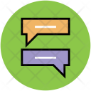 Online Chat Verbal Icon