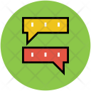 Online Chat Text Icon