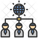 Online User Connection Icon
