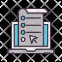 Online Resume Builder Icon