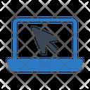 Online Cursor Click Icon