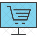 Online Shopping Electronic Icon