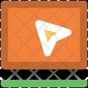 Online Map Cursor Icon