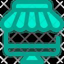 Online Store Market Icon