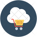 Online Shopping Cloud Icon