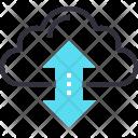 Online Data Transaction Icon