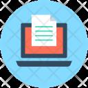 Online Document E Icon