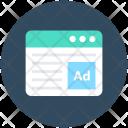 Online Ad Web Icon